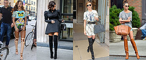 11 Celebrity-Inspired Ways to Wear Over-the-Knee Boots