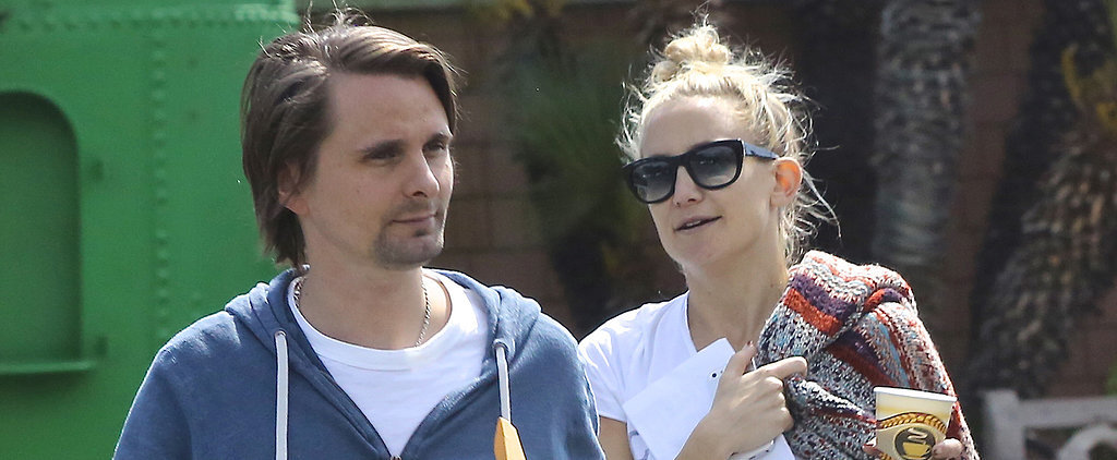Kate Hudson and Matthew Bellamy Show No Signs of Relationship Trouble