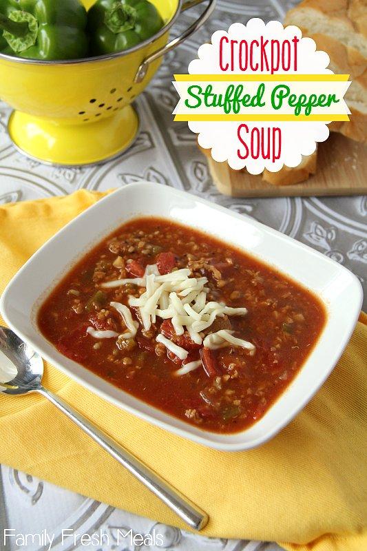 Stuffed-Pepper Soup