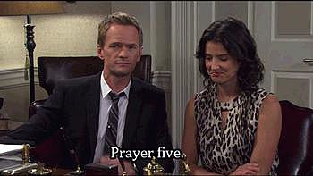 Or the prayer five. (You get the picture.)