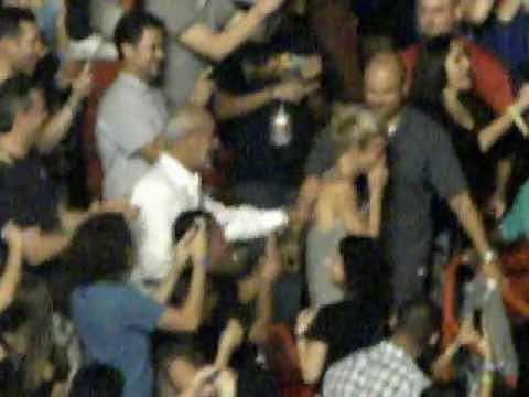 When Chris surprised Gwyneth in the crowd at his concert in 2012.