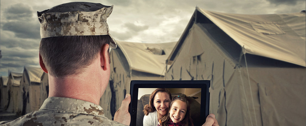 New App Keeps Military Dads Connected to Their Tots