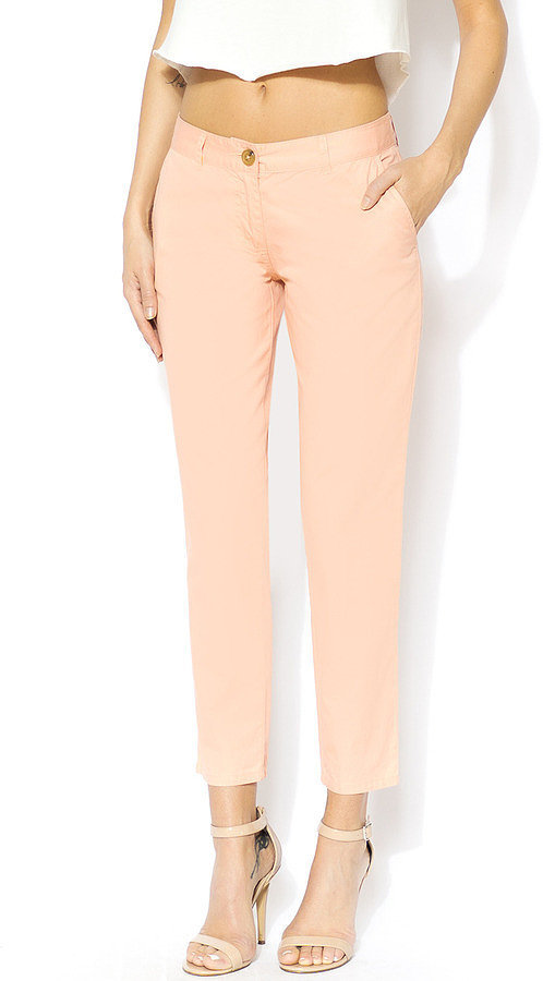 Clutch! Peach Capri Pants ($32)