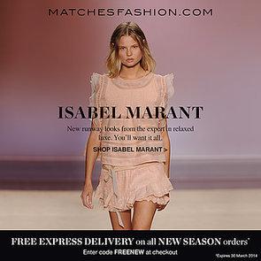 Isabel Marant SS14 At MATCHESFASHION.COM