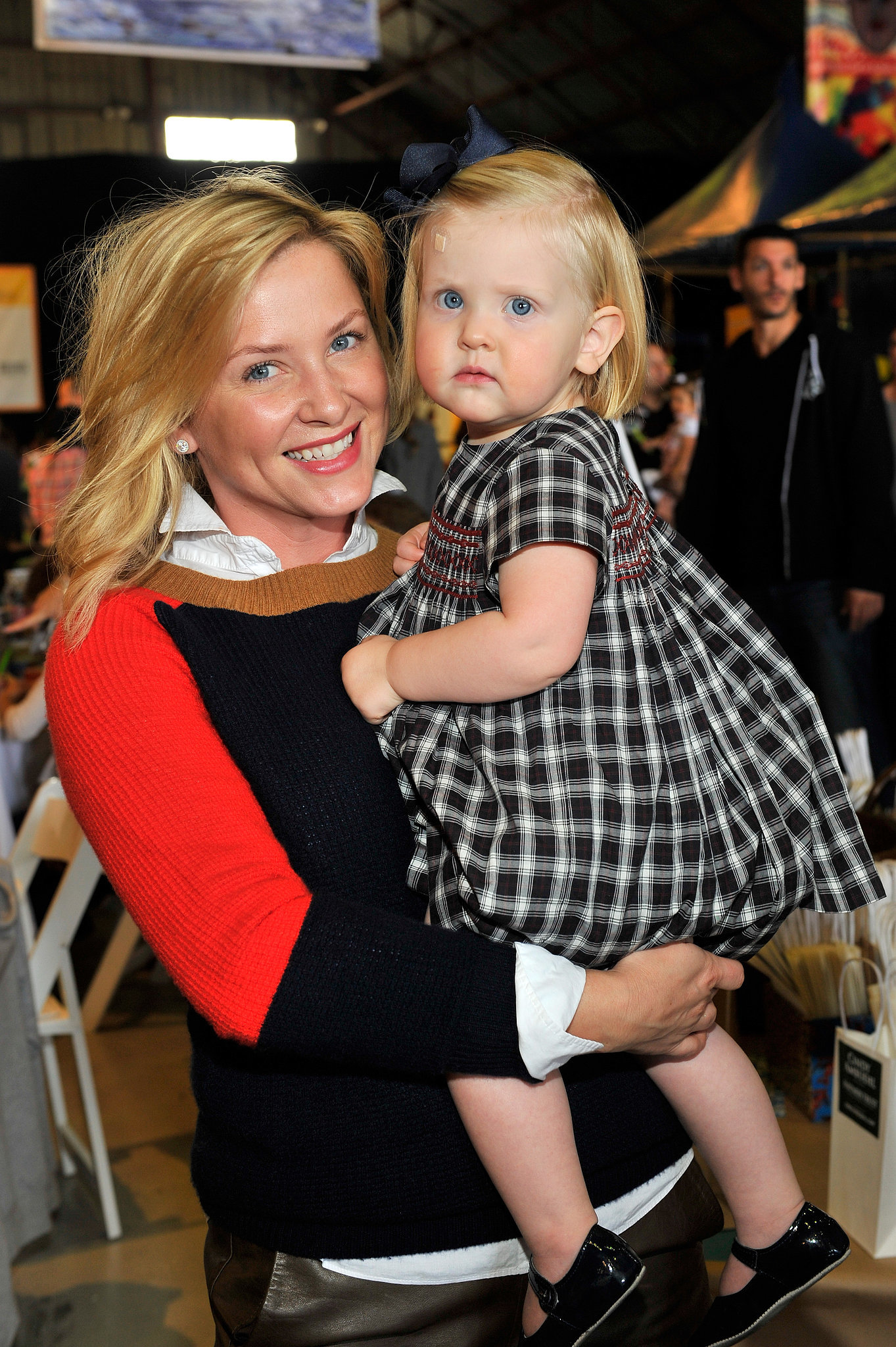 Photo of Jessica Capshaw & her Daughter  Poppy James Gavigan