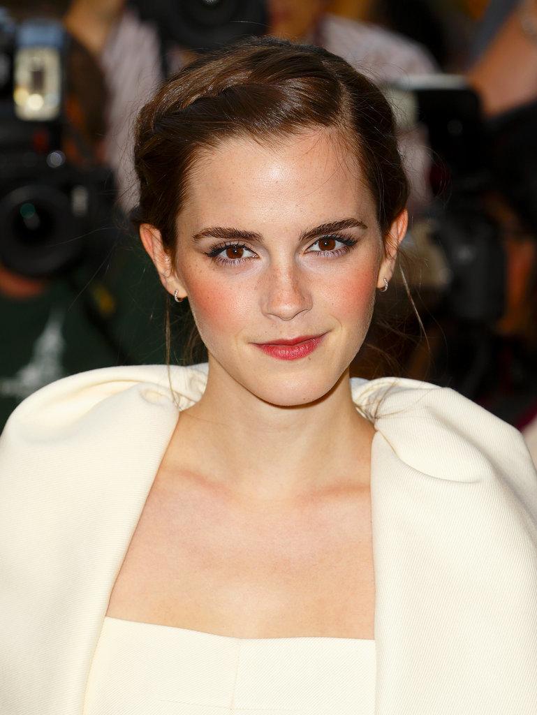 Emma Watson's Braided Updo
