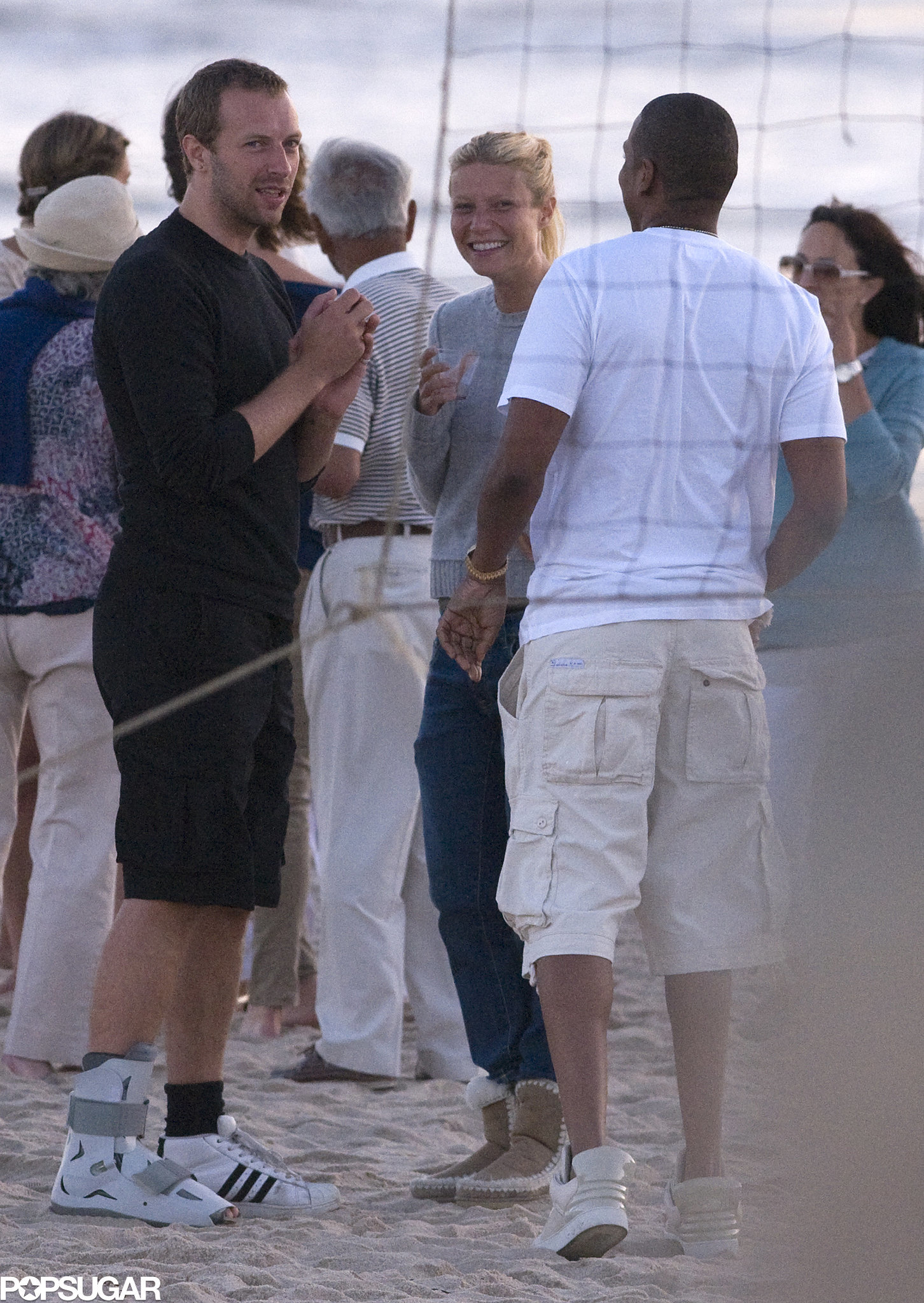When they partied on the beach in 2010 with Jay Z.