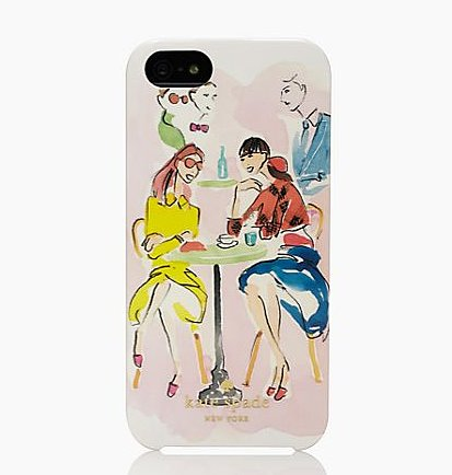 Café Scene iPhone 5 Case