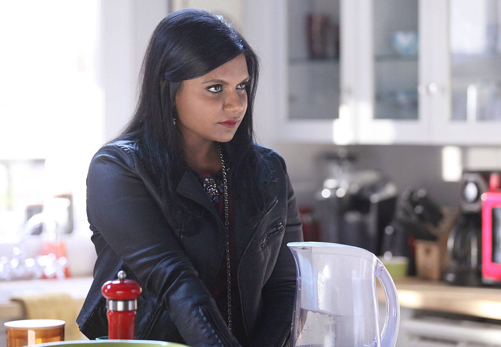 Mindy on The Mindy Project.