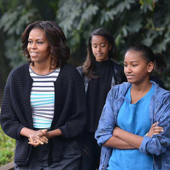 Michelle Obama Goes to China With Her Daughters | Pictures
