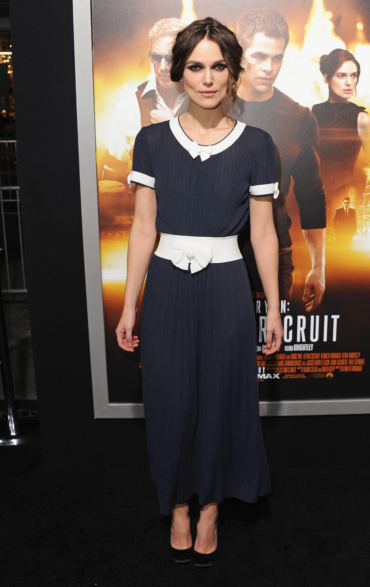 Keira Knightley at the Jack Ryan: Shadow Recruit LA Premiere