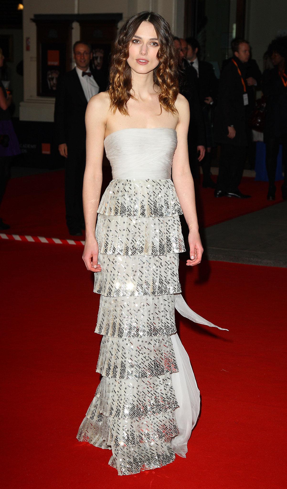 Keira Knightley at the 2008 BAFTAs