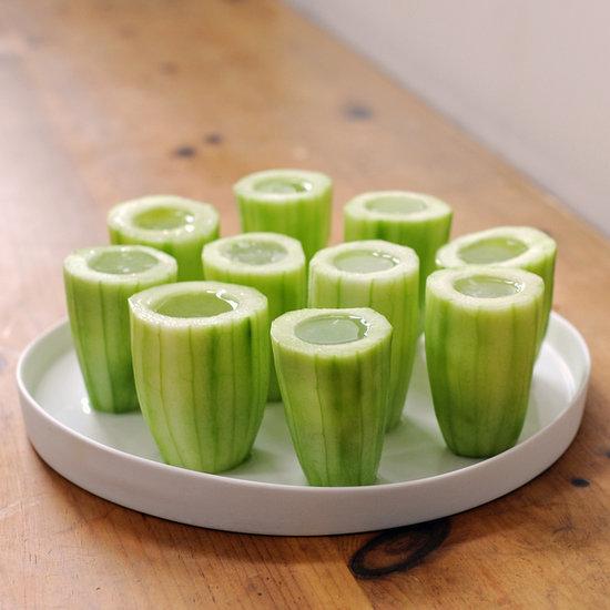 Cucumber Gimlet Shots