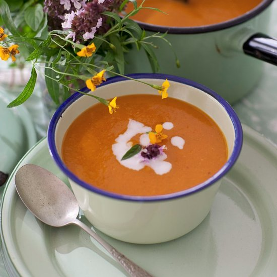 ... the Soul With Belinda Jeffrey's Spicy Pumpkin, Ginger + Coconut Soup