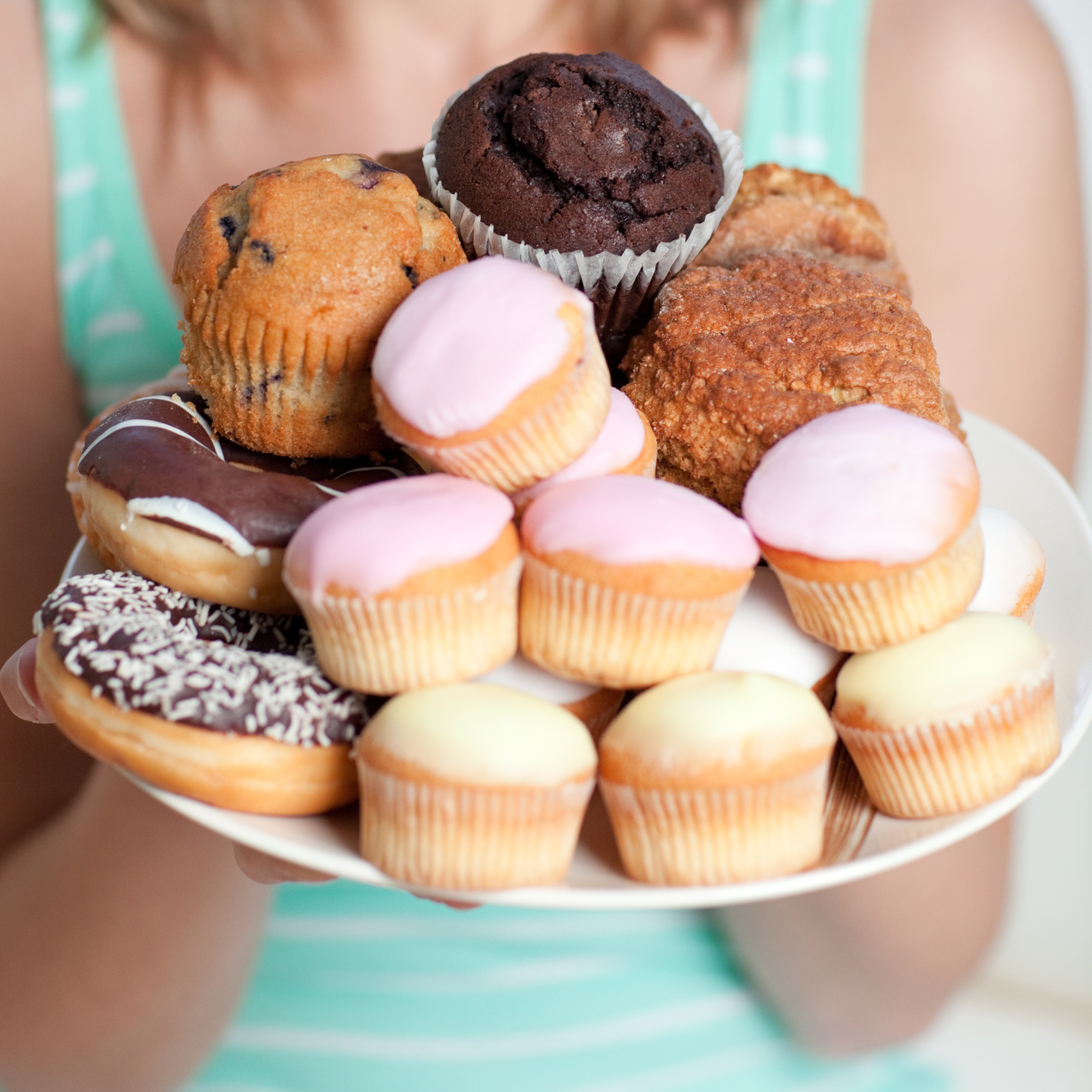 Sugar-Filled and Fatty Foods