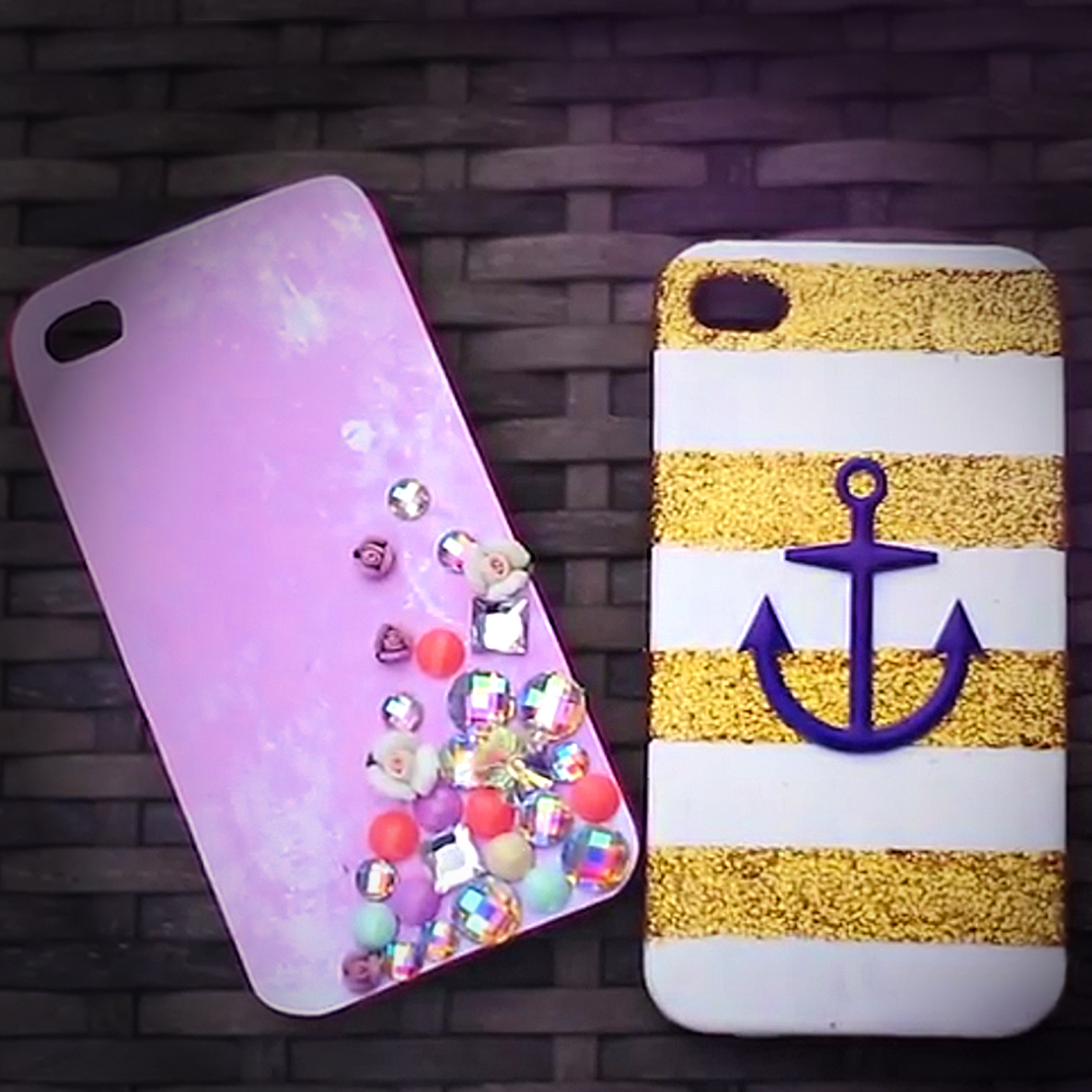 diy iphone case video popsugar fashion