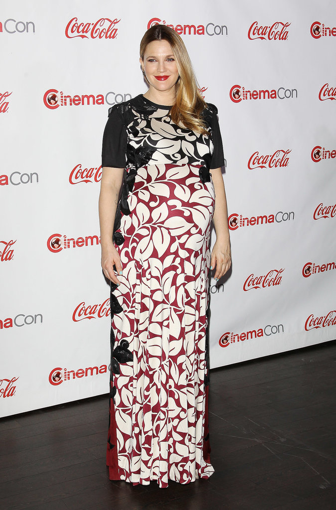 Drew Barrymore at the CinemaCon Big Screen Achievement Awards