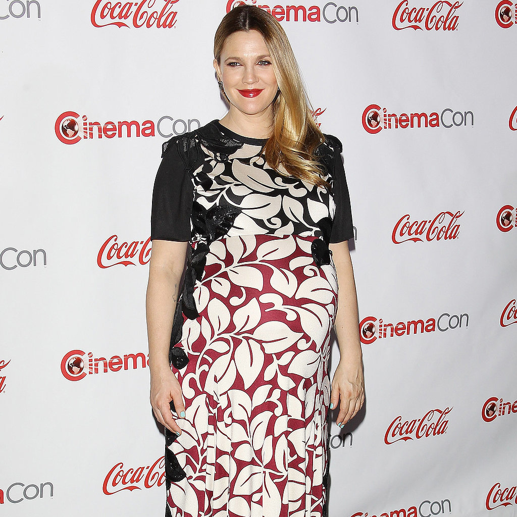 Drew Barrymore Maternity Style Pictures | POPSUGAR Fashion