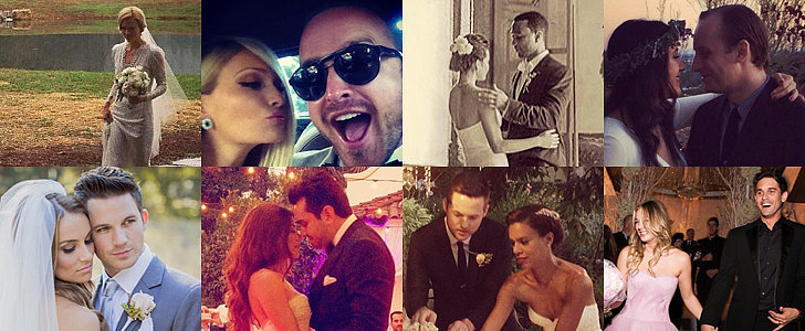 #IDo: The Best Social Celebrity Wedding Pictures