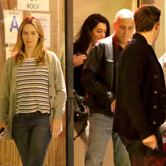 George Clooney on Double Date With Emily Blunt