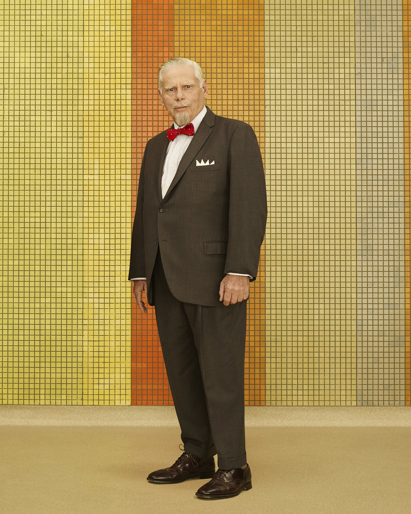 Robert Morse as Bert Cooper.