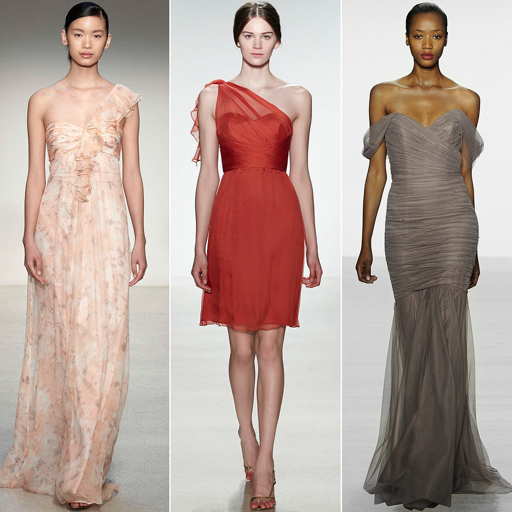 best bridesmaid dresses from amsale popsugar fashion