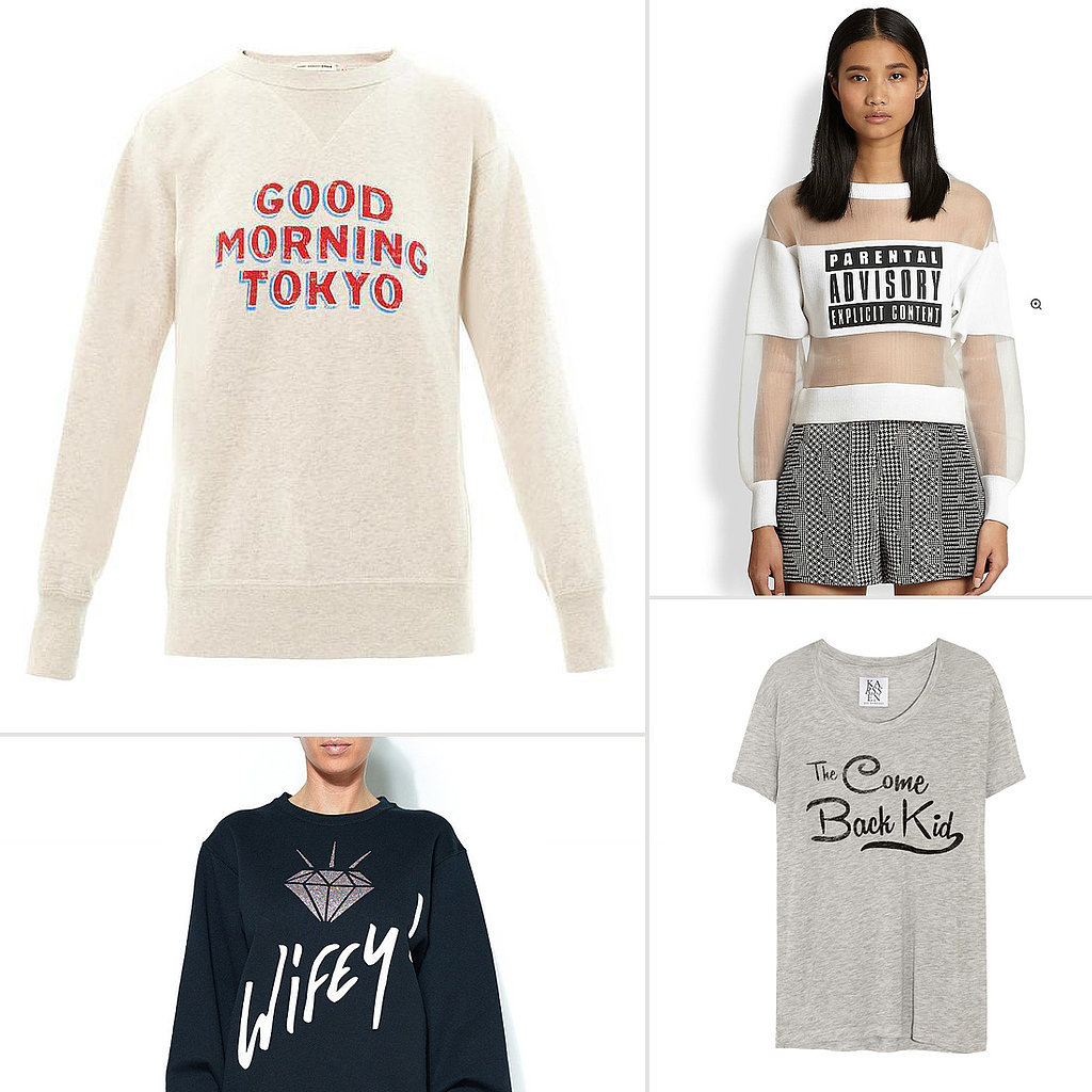 Slogan T-Shirts For Spring