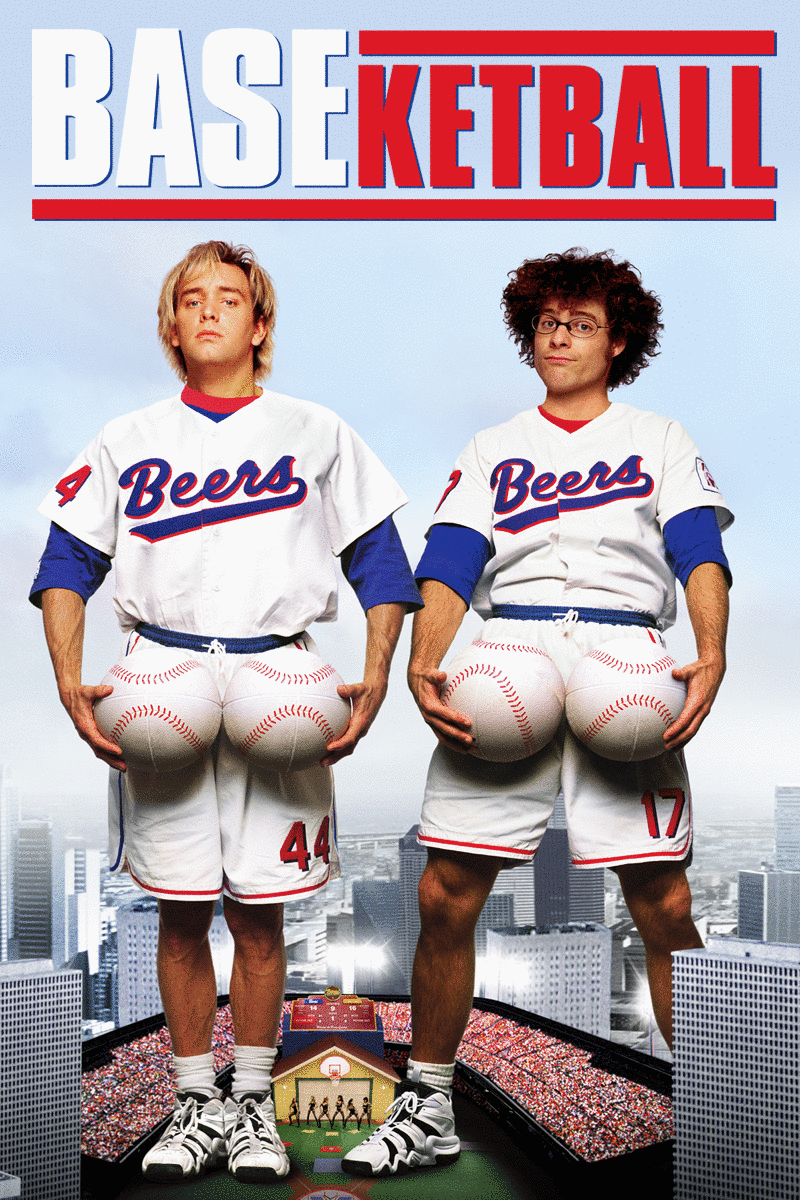 Then things took a comedic turn with BASEketball in 1998.