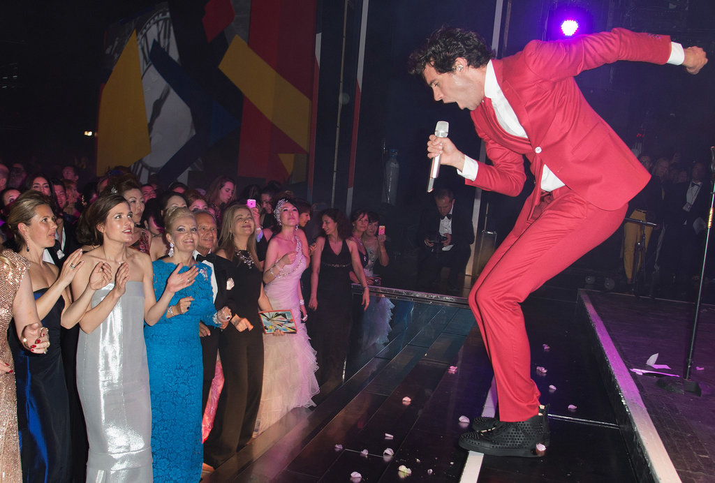 Mika performed at the ball.
