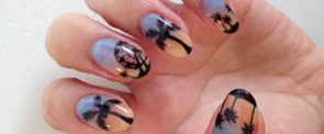 DIY This Psychedelic Festival Nail Art Now