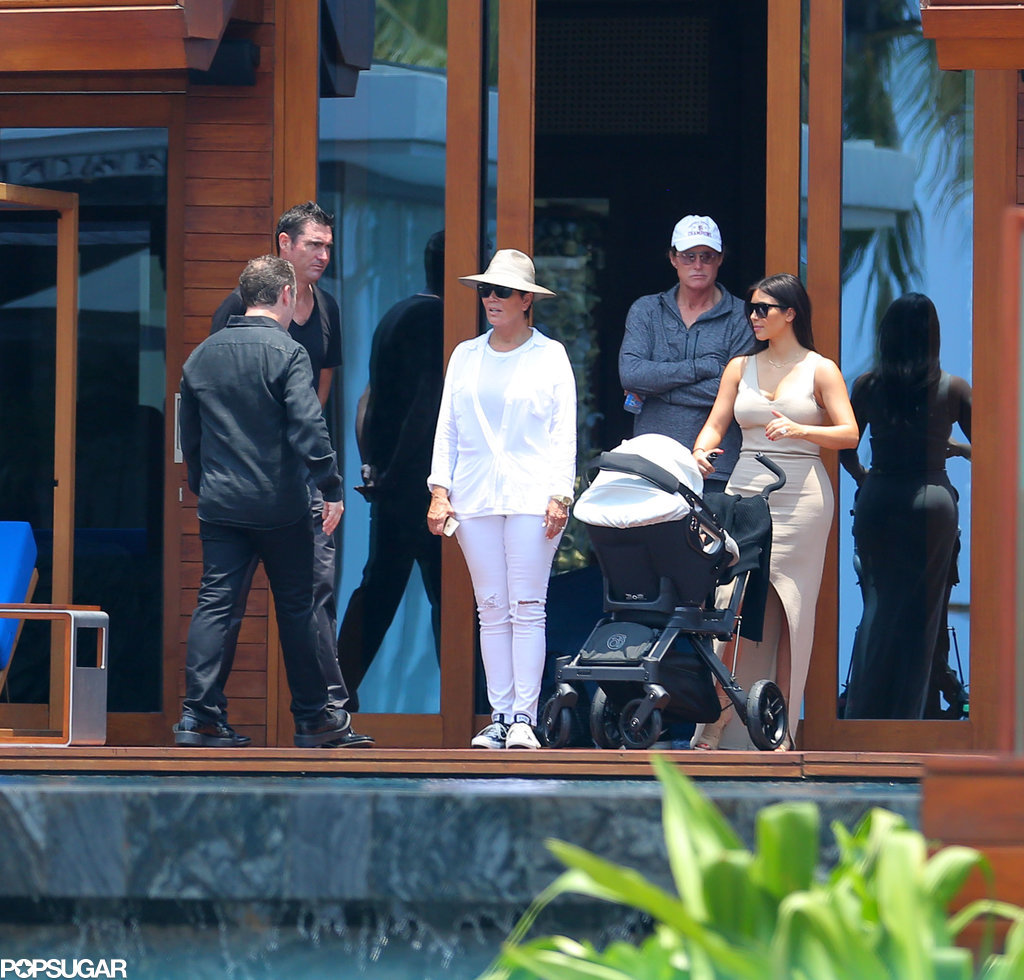 Kris, Bruce, and Kim checked out the accommodations with North.