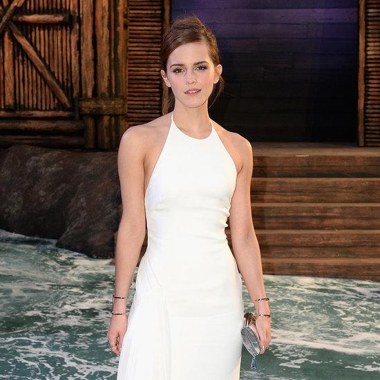 Emma Watson Pictures on Noah Press Tour
