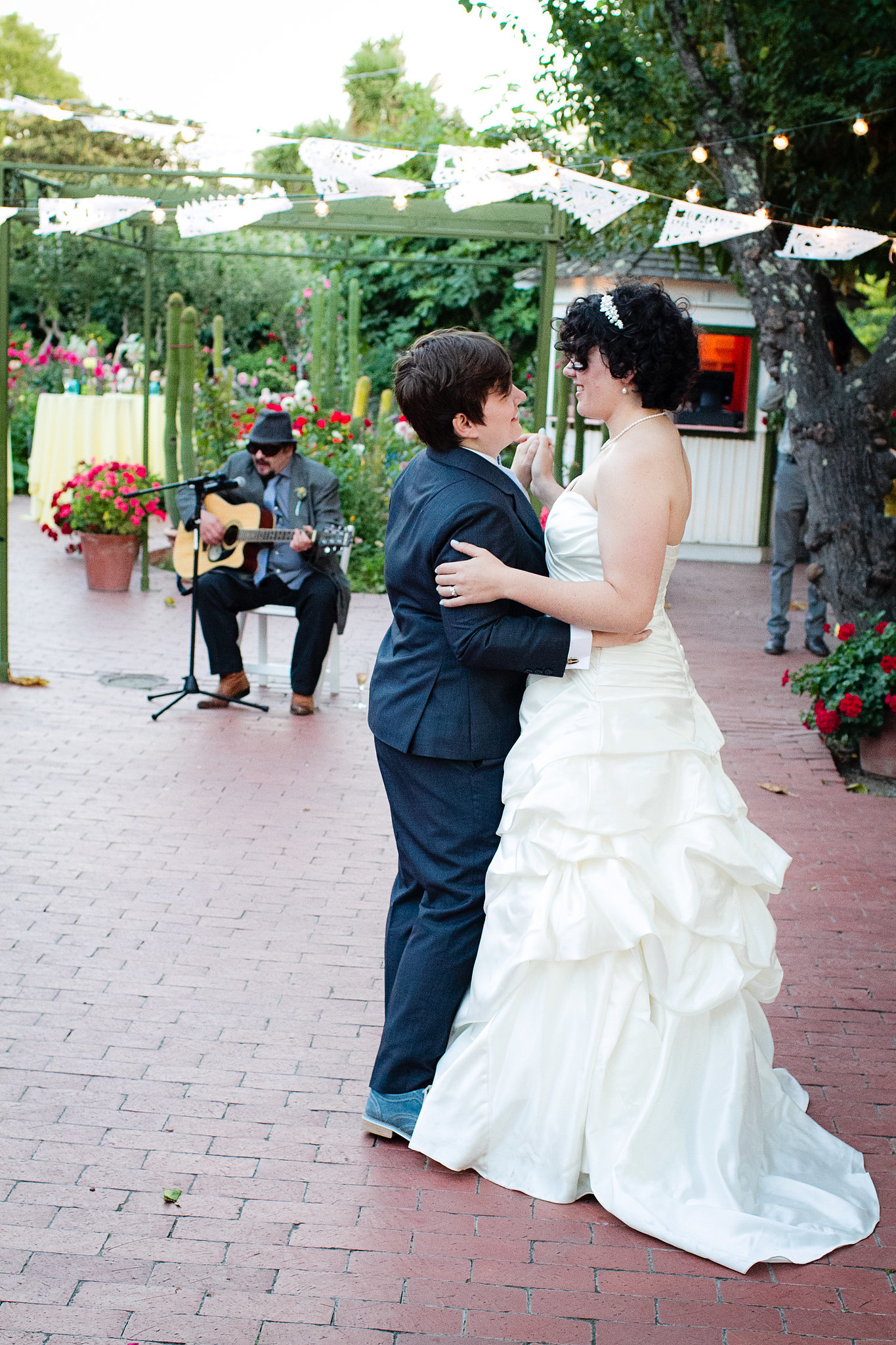 """The recessional song was """"Fell in Love With a Girl"""" by The White Stripes and the first dance song was """"I Never"""" by Rilo Kiley. Photo by G Aranow Photography"""