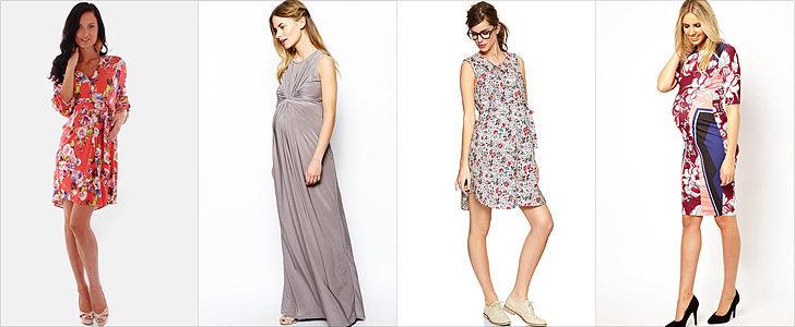 A Dozen Spring Shower Dresses to Show Off Your Bump