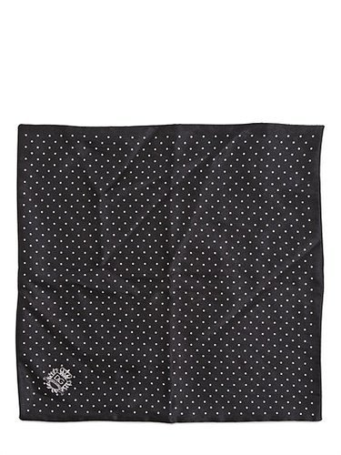 Dolce & Gabbana - Polka Dots Silk Pocket Square