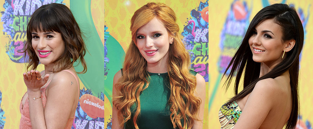 Fresh, Young Beauty Looks From the Nickelodeon Kids' Choice Awards