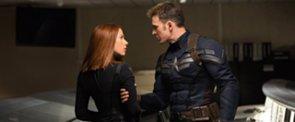 "Scarlett Johansson Says Captain America Chris Evans Is ""Cute Like a Little Puppy"""