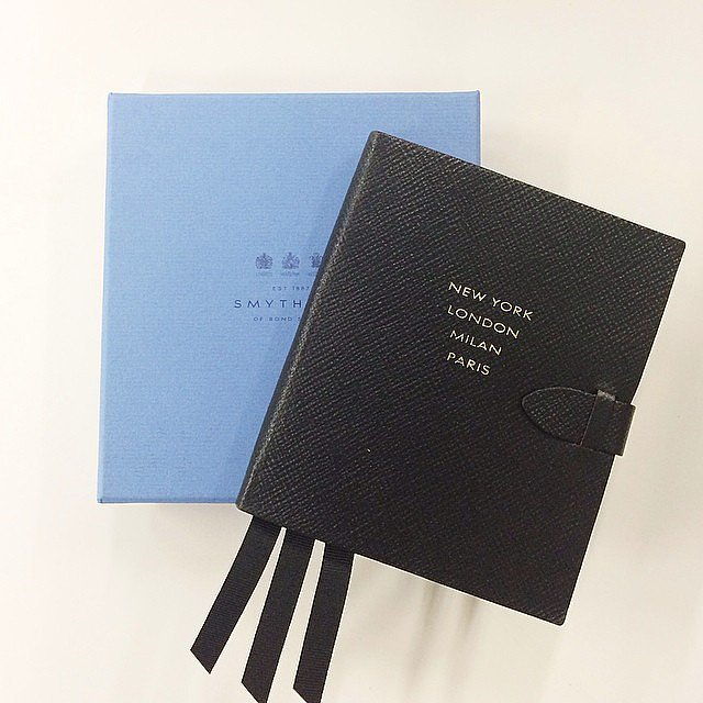 This Smythson notebook definitely makes note-taking a more stylish affair.