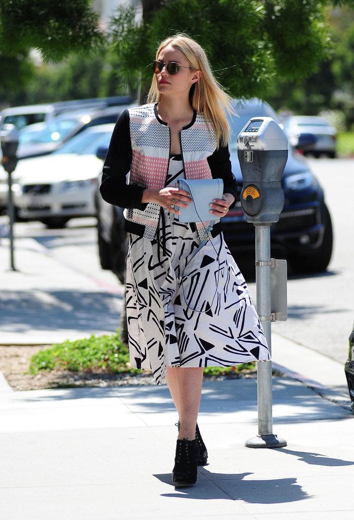 Dianna Agron Street Style