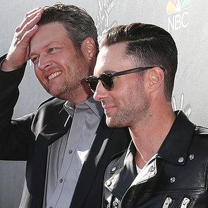Adam Levine and Blake Shelton Bromance at The Voice | Video
