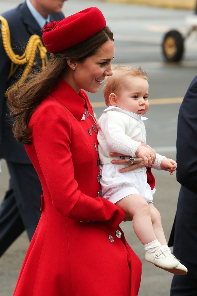 Prince George's First Royal Tour Begins!