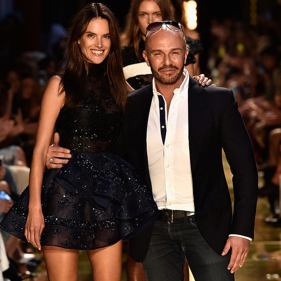 Alex Perry Fashion Week 2014 Show With Alessandra Ambrosio