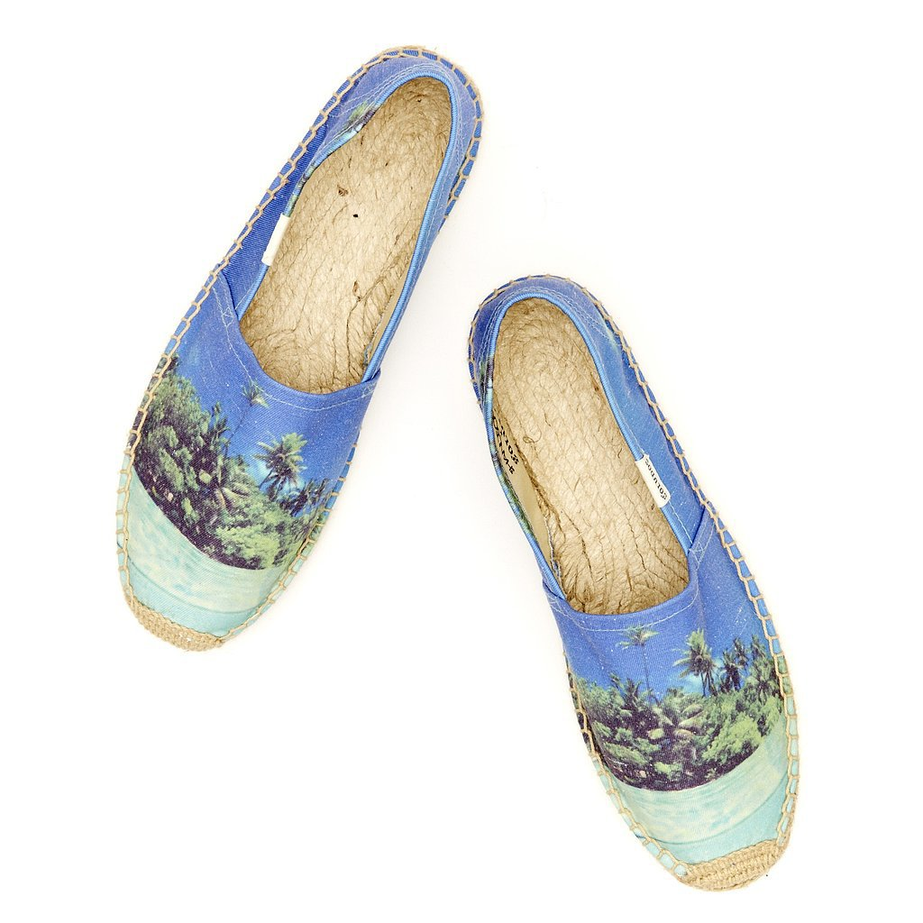 Soludos x We Are Handsome Beach-Print Espadrilles