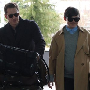 Pregnant Ginnifer Goodwin and Josh Dallas at the Airport
