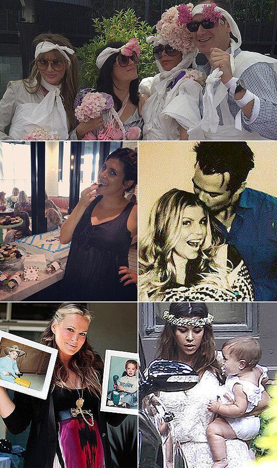 celebrity baby showers popsugar moms