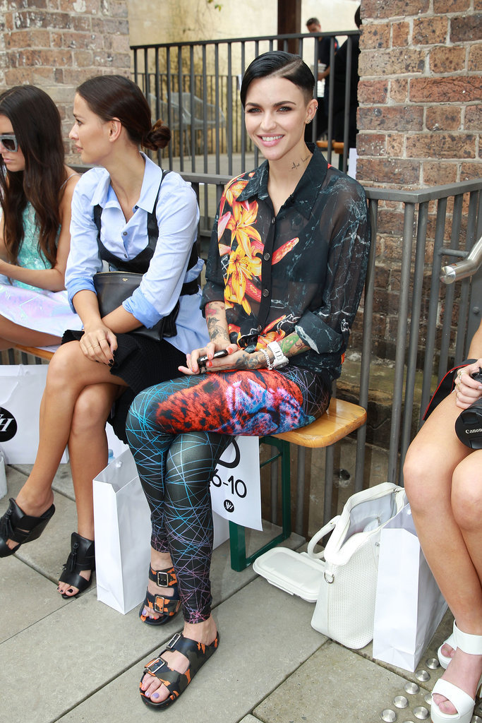 Ruby Rose at MBFWA Day Three