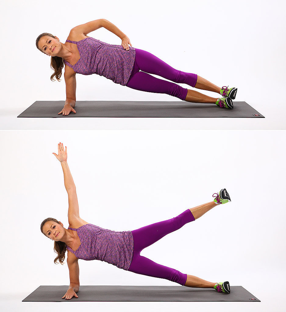Elbow Plank With Leg Lift