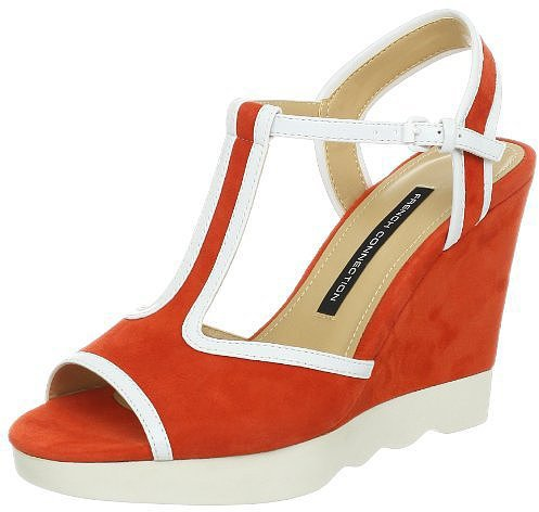 French Connection Wedge Sandals