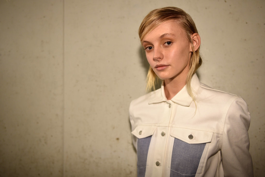 Dion Lee Does Skincare as Makeup and Relaxed, Tough-Looking Locks
