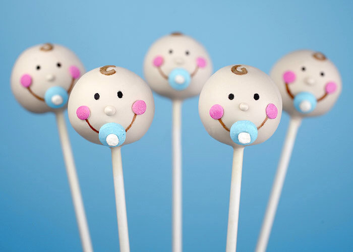 Pop Star! 25 Adorable Baby Shower Cake Pops